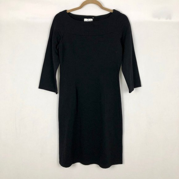 Jude Connally Dresses & Skirts - Jude Connally Black Stretch Sheath Dress Size SM